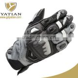 Factory direct sale custom made protective motorcycle leather driving gloves