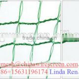 100% virgin PP/PE/Plastic green/blue/black anti bird netting for highway or airports areas