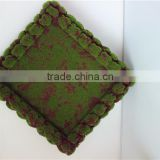 Home Wall to wall decoration 0.5mx0.5m artificial green wall moss foam hanging carpet EPZM05 0907