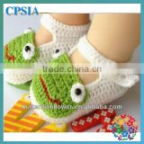 2015 Hot Handmade Popular Lovely Crochet Baby Shoes Wholesale Baby Shoes Knitted Shoes For Toddler