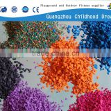 (EP-04) Red EPDM rubber granules , factory direct sale EPDM granule raw material water proof color granule of EPDM rubber