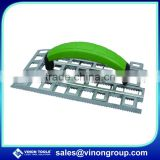 Stainless Steel Rabot Trowel/Angle Plane/Plaster Plane Rabot/Grid Rabot for gypsum with Plastic handle.