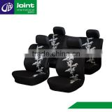 Universal Black Polyester Car Interior Cover Seat Car Auto Seat Covers In Seat Cushions Car Seat Headrest Covers