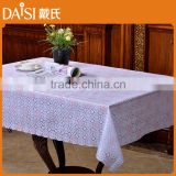 Wipe easy PVC tablecloth in rolls home decorative tablecloth