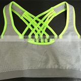 Ladies beautiful and comfortable criss cross sports bra