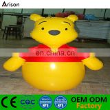 Factory inflatable cartoon bear shape tumbler inflatable bear punching bag for kids