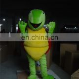 2016 Lovely green turtle mascot costume adult sea turtles mascot costume