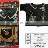 N+ NEW ITEM---Cosplay costumes.Short sleeved Cosplay Pirate Costume(Environmental PVC).SF235226