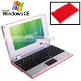 7.0 inch for Windows CE Notebook laptop Computer with WIFI, 512MB RAM + 4GB ROM, CPU: VIA WM8850, 600MHz laptop ,netbook