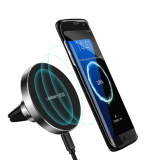 10W Qi Wireless Charger for Samsung Note 8 S8 S7 S6 Fast Wireless Charging Magnetic Car Air Mount Holder