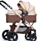 3 in 1 Baby Buggy Luxury Baby Pushchair with Big Wheels