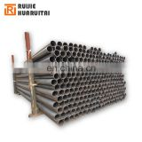 1.5 inch schedule 40 Black iron pipe surface treatment galvanized, oiled, painted process