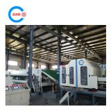 Polyester thermal bonding machine and wadding production line