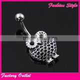 Wholesale Body Piercing Navel Ring Jewelry
