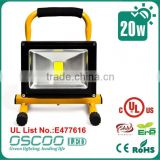 3years warranty bridgelux chip CE ROHS UL Approved MeanWell driver portable led floodlight