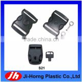Key lock lockstitch lockable plastic buckle latch