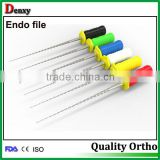 Dental k file dental h file dental reamers Root Canal Files/Dental Reamers/ dental rotary files