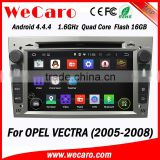 Wecaro GPS Navi Wifi 3G 2 Din Android Car DVD Player for Opel Vectra 2005 2006 2007 2008