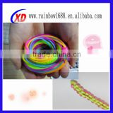 good quality silicone necklace rope/ promotion silicone necklace rope/ silicone necklace rope