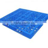 Hot sale heavy duty double faced plastic pallet for stacking