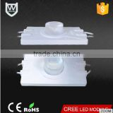 Alibaba specially produce super brightness led module with side light lens lighting 3W led module 110V