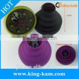 manufacturer Hairdressing tool folding silicone blow dryer diffuser