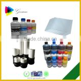 Top quality sublimation ink for epson for Cotton Fabric/Mug/Leather/PVC/pottery and porcelain printing