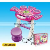 Educational Kids Electric Organ toy with Microphone