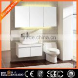 Multi-Layer solid wood Bathroom mirror vanity cabinet Top bath vanity