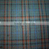 Yarn Dyed Wool Acrylic Check Fabric