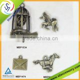 Wholesale horse charms, birdcage charms for crafts, bulk envelope charms