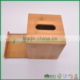 100% bamboo material napkin box tissue holder from fuboo                                                                                                         Supplier's Choice