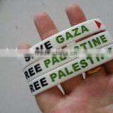 Newly designing & Hot selling Palestine wrist rubber band ----- DH 16988                                                                         Quality Choice