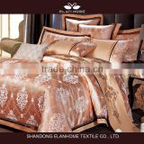 cotton Jacquard Duvet Cover Set/qulit/comforter/pillow/bed sheet in good quality and cheap price