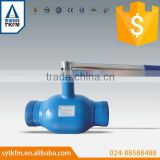 Taike Full Welded stainless steel Ball Valve/All Welded Ball Valve with different connection and power