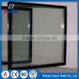 20mm Insulated window Glass Panels Curtain Wall