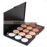 2014 Hot Sale Special Professional 15 Concealer Facial Care Camouflage Makeup Palette Free Sample