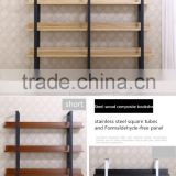 Fashion Library Furniture Wooden Display Book Rack / Bookshelf                                                                         Quality Choice