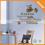 Kinds of hot new wall stickers anti-water cafe wall decor