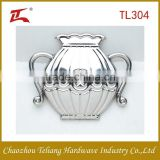 hardware product golden and silver stainless steel decorative accessories lantern