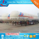 gas delivery road tank semi trailer LPG tanker trailer with lower price