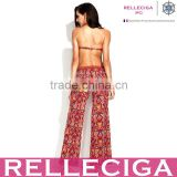 RELLECIGA Exotic Style Digital Print Beach Pants Beachwear