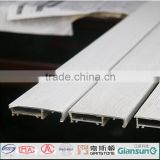 pvc veneer coated aluminum profile to make doors windows/aluminum window profile with different colors