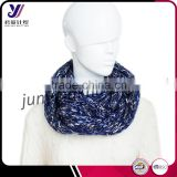 Chunky knitted Bubble Scarves Neckwarmer Loop infinity knit pashmina scarf manufacturer factory wholesale sales (accept custom)