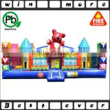 giant outdoor used inflatable toddler toy town bouncer trampoline playground prices for children