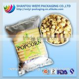 wholesale composite material disposable plastic food packaging for popcorn