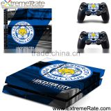 Leicester City Football Club protective skin for PS4 vedio game accessories, vinyl sticker for PS4 controller skins