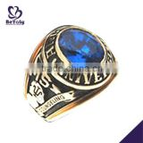 Fashion jewelry custom design silver high school championship rings