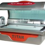 tanning equipment for tanning skin