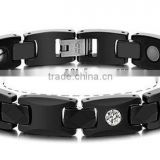 fashion bracelets 2013 black ceramic bracelet health protection medical bracelets manufacturers